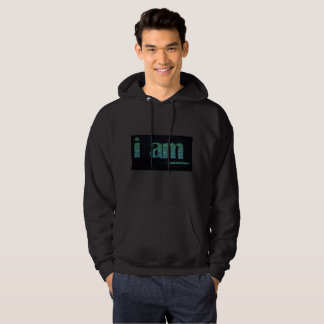 BLACK NICE HOODIE : MOTIVATIONAL QUOTE