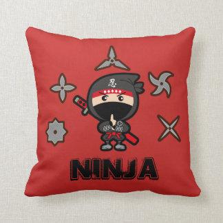 Black Ninja Boy Cushion