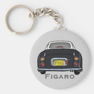 Black Nissan Figaro Custom Keyring