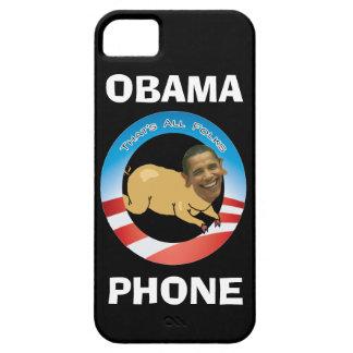 Black Obama Phone iPhone 5 Covers