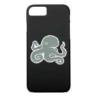 Black Octopus iPhone 7 Case