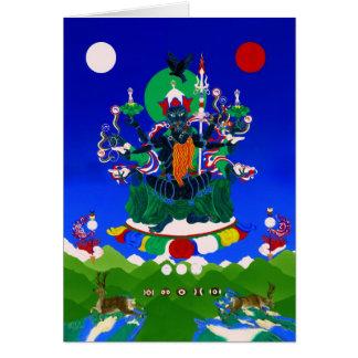 Black Ögyen Chenrezigs [card] Card
