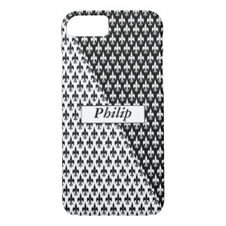 Black on White or White on Black iPhone 8/7 Case