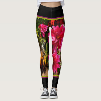 Black one put-went with red dahlias leggings