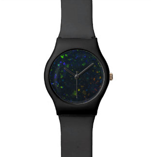 Black Opal Dial Wrist Watch