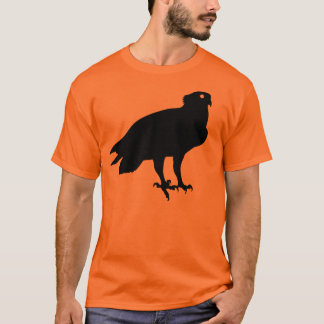 Black Osprey Bird Of Prey Giving You the Stink Eye T-Shirt