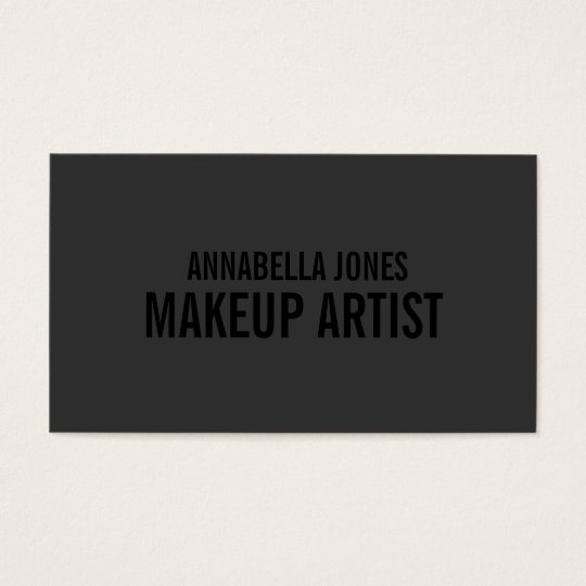 Black out makeup artist business cards zazzle black out makeup artist business cards reheart Image collections