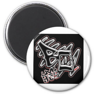 Black Out Radio 6 Cm Round Magnet