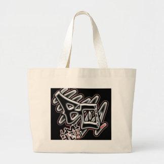Black Out Radio Jumbo Tote Bag