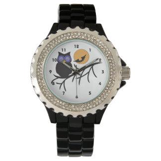 Black Owl Halloween Watch