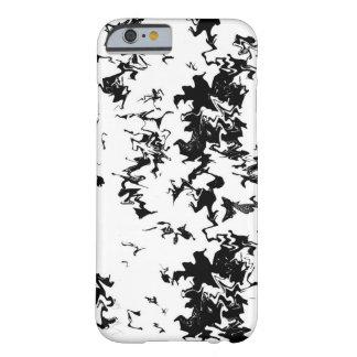 Black Paint iPhone 6/6s Case