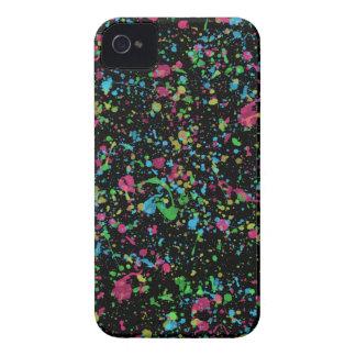 Black Paint Splatter Case iPhone 4 Case-Mate Cases
