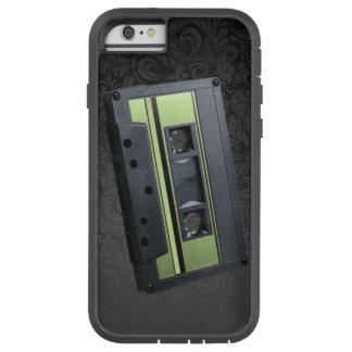 BLACK PAISLEY 4 TRACK CASSETTE TOUGH XTREME iPhone 6 CASE