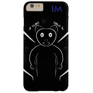 Black Panda Barely There iPhone 6 Plus Case