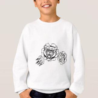 Black Panther Angry Gamer Esports Mascot Sweatshirt