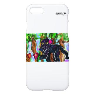 black panther beautiful jungle iPhone 8/7 case