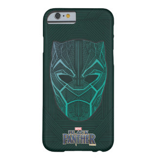 Black Panther | Black Panther Etched Mask Barely There iPhone 6 Case