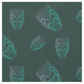 Black Panther | Black Panther Etched Mask Fabric