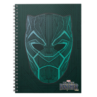 Black Panther | Black Panther Etched Mask Notebook