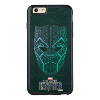 Black Panther | Black Panther Etched Mask OtterBox iPhone 6/6s Plus Case