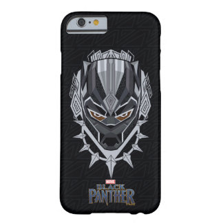 Black Panther | Black Panther Head Emblem Barely There iPhone 6 Case
