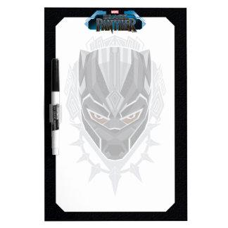 Black Panther | Black Panther Head Emblem Dry Erase Board