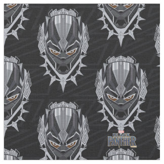Black Panther | Black Panther Head Emblem Fabric