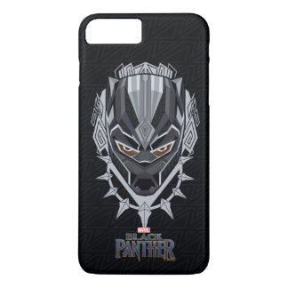Black Panther | Black Panther Head Emblem iPhone 8 Plus/7 Plus Case