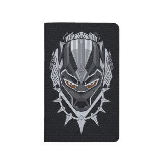 Black Panther | Black Panther Head Emblem Journal