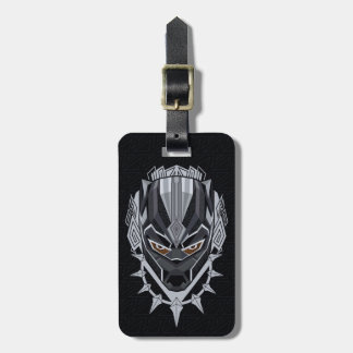 Black Panther | Black Panther Head Emblem Luggage Tag