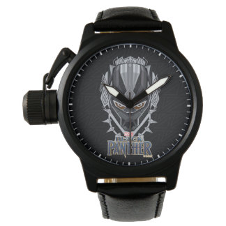 Black Panther | Black Panther Head Emblem Watch