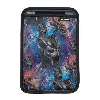 Black Panther | Black Panther & Mask Pattern iPad Mini Sleeve