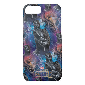 Black Panther | Black Panther & Mask Pattern iPhone 8/7 Case
