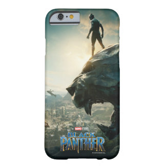 Black Panther | Black Panther Standing Atop Lair Barely There iPhone 6 Case