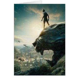 Black Panther   Black Panther Standing Atop Lair Card
