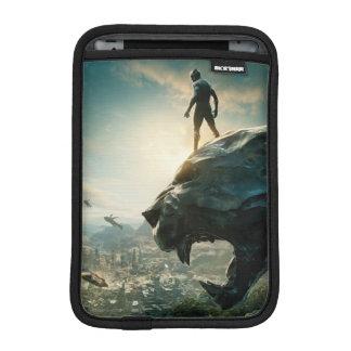 Black Panther | Black Panther Standing Atop Lair iPad Mini Sleeve