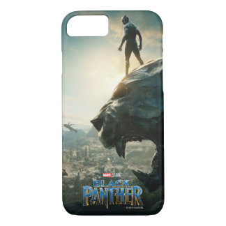 Black Panther | Black Panther Standing Atop Lair iPhone 8/7 Case