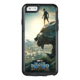 Black Panther | Black Panther Standing Atop Lair OtterBox iPhone 6/6s Case