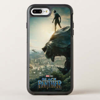 Black Panther | Black Panther Standing Atop Lair OtterBox Symmetry iPhone 8 Plus/7 Plus Case