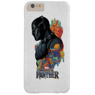Black Panther | Black Panther Tribal Graffiti Barely There iPhone 6 Plus Case