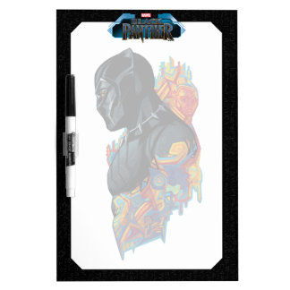 Black Panther | Black Panther Tribal Graffiti Dry Erase Board