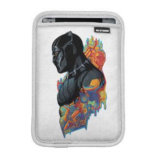 Black Panther | Black Panther Tribal Graffiti iPad Mini Sleeve