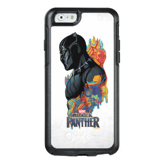 Black Panther | Black Panther Tribal Graffiti OtterBox iPhone 6/6s Case