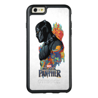 Black Panther | Black Panther Tribal Graffiti OtterBox iPhone 6/6s Plus Case