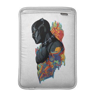 Black Panther   Black Panther Tribal Graffiti Sleeve For MacBook Air