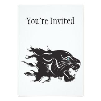 Black Panther Blue Eyes Card