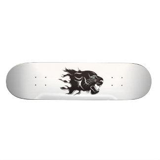 Black Panther Blue Eyes Skate Board Deck