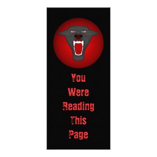 Black Panther Bookmark Template Rack Cards