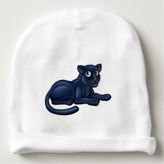 Black Panther Cartoon Character Baby Beanie
