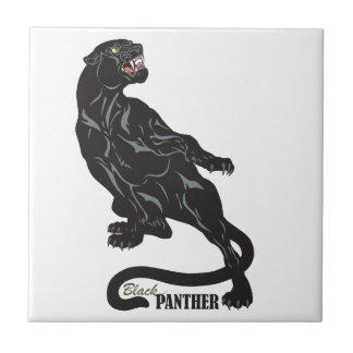 black panther ceramic tile
